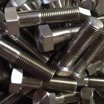 nickel alloy 600 en 2.4816 studs bult wheel din931chinese dabînkerê