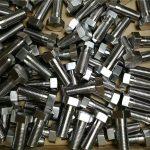 fastener custom 316 stainless steel din931 hex bolt bi bihayê baş