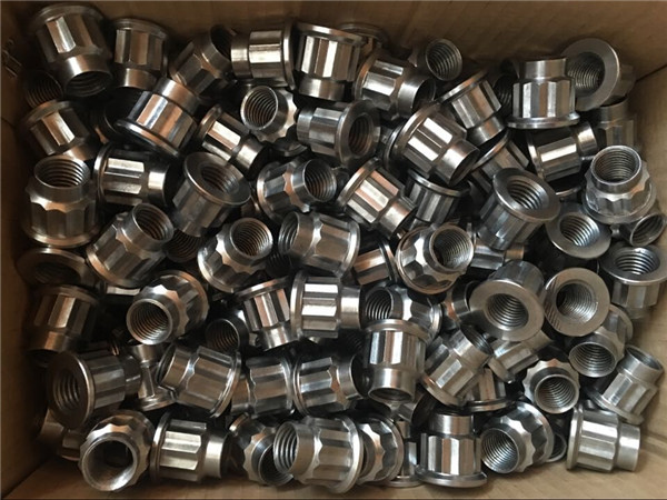 fastener custom m20 17-4ph flange nut, alloy temperature 630