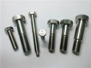 No.25-Incoloy a286 hex screws 1.4980 a286 fasteners gh2132 fixing