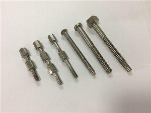 No.41-CNC makîneya titanium perçeyek pişk û rûnê