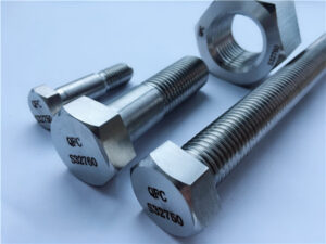 No.53-F55 S32760 1.4501 2507 HEX NUTS & FASTENERS BOLTS