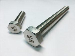No.59-Incoloy 925 rondikên tirşikê, alloy825925 fastener