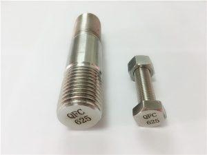 No.71-625 fasteners di nîkel de