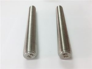 No.77 Duplex 2205 S32205 fasteners of stainless steel DIN975 DIN976 rods threaded F51