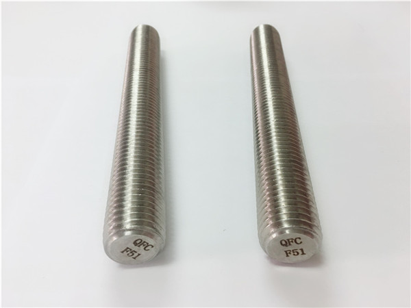 duplex2205 / s32205 fasteners Stainless Steel din975 / din976 rokên birçandî f51