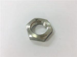 No.93- A2 A2-70 A2-80 A4 A4-70 A4-80 SS304 SS316 Stainless Steel SS Hex Berçem DIN936