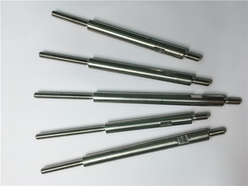 cnc precision machining fasteners threaded the Steel