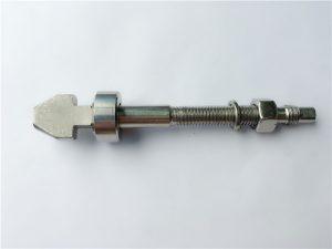 Dabeşên dîskê titanium bi destûrên kasa û cone